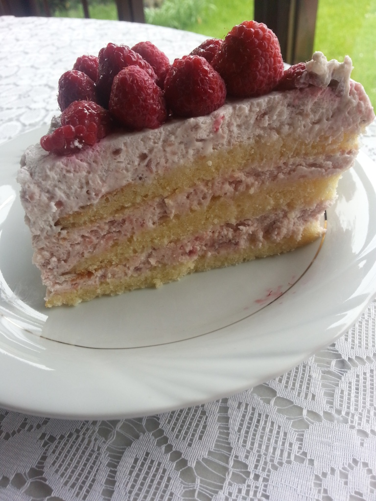 Layer Cake framboises