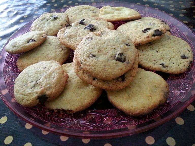 cookies chocolat noir noix