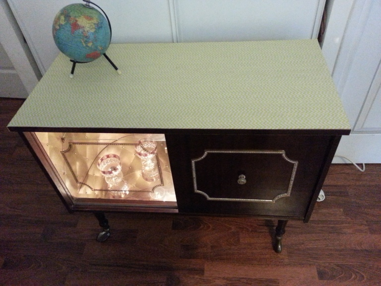 bar meuble vintage 1960