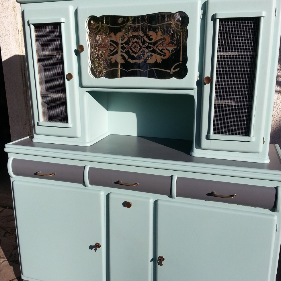 buffet vintage ann e 50. Black Bedroom Furniture Sets. Home Design Ideas