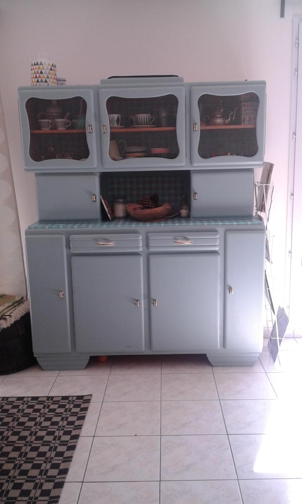 buffet mado vintage restauré